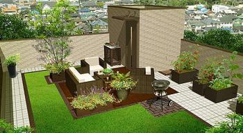 image 憧れの屋上庭園♪ワンランク上の家づくり。
